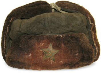 "Winter hat with ear-flaps ""Uschanka"" model 1940 for the Red Navy"